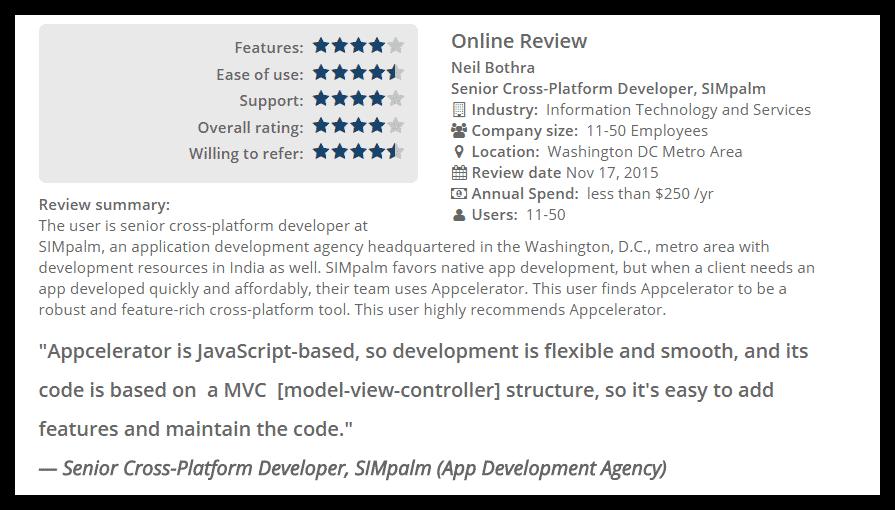 Appcelerator Review