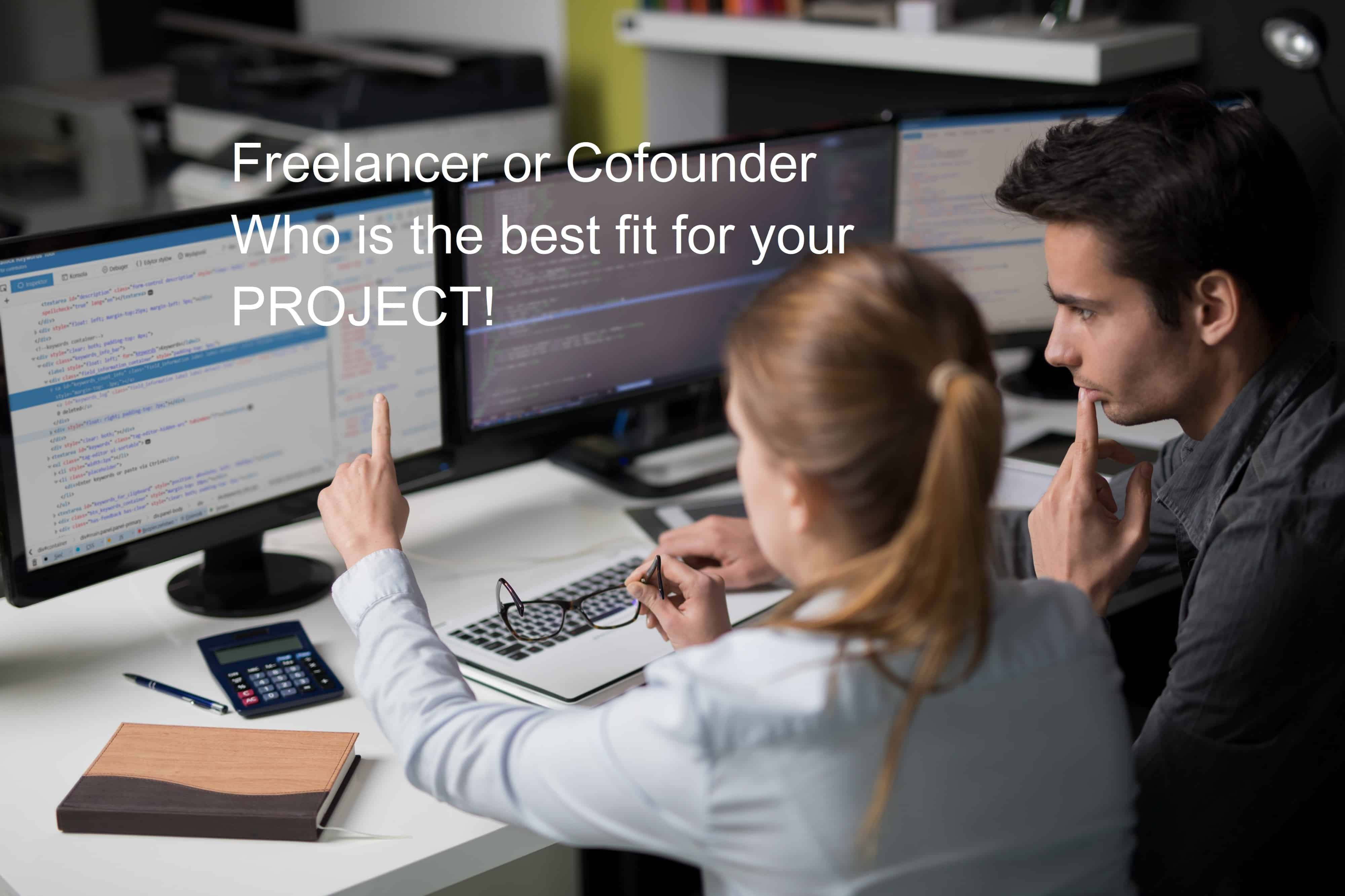 Do You Need Freelancers or Co-founders for Technology Startups?