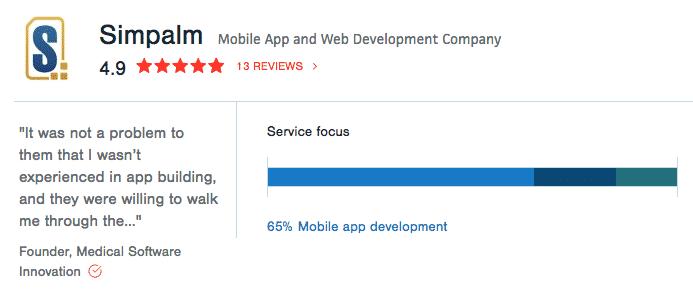 mobile app development company clutch