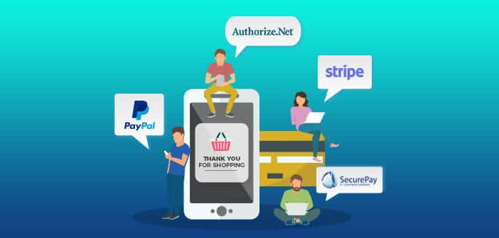 Payment gateways for payment apps