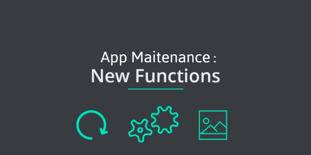 App maintenance features and function