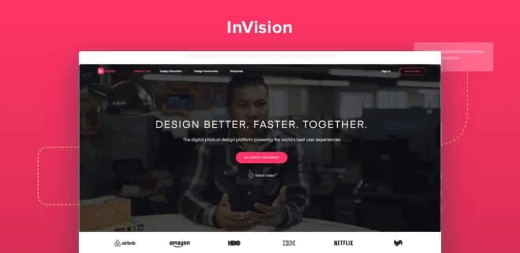 invision designing tool simplam