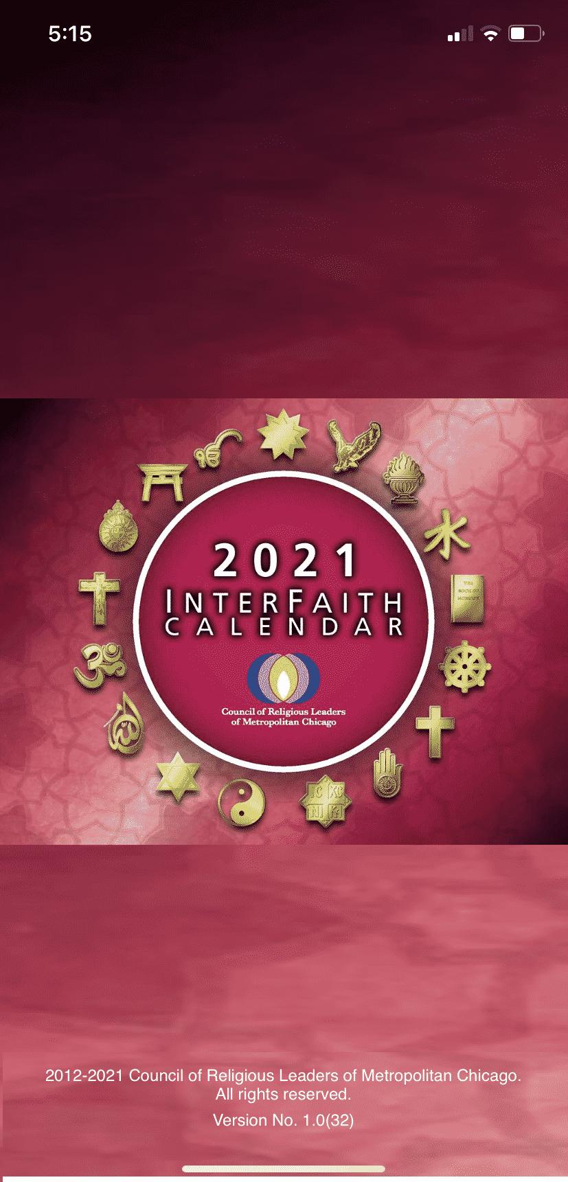 InterFaithCal
